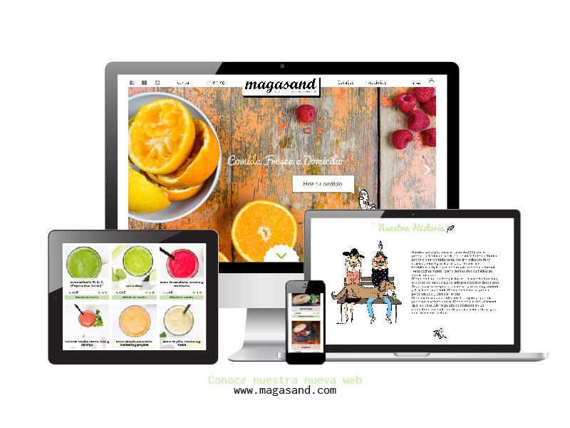 Magasand responsive webdesign