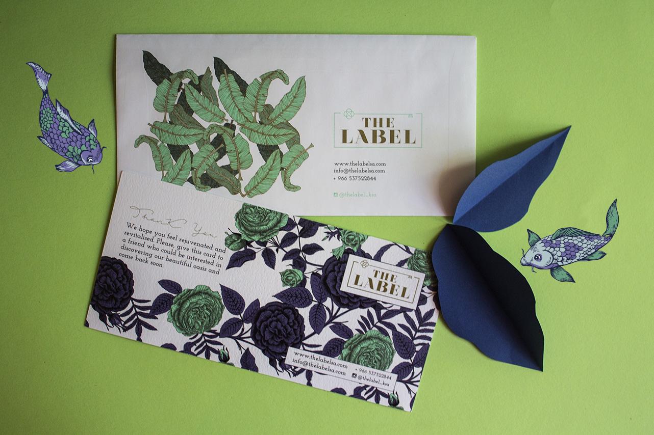 Luxury branding and print design