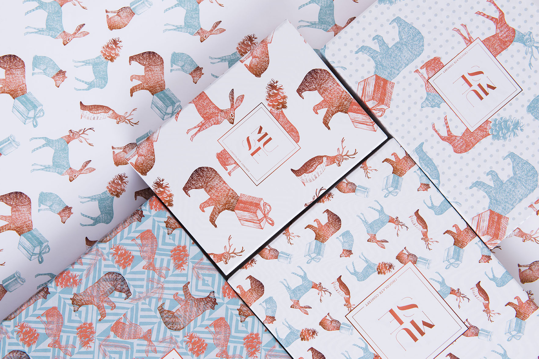 Pattern design prints and packaging