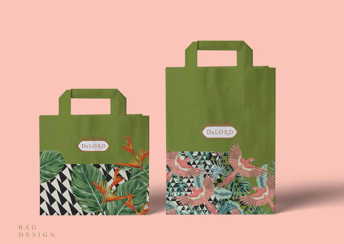take away bag design