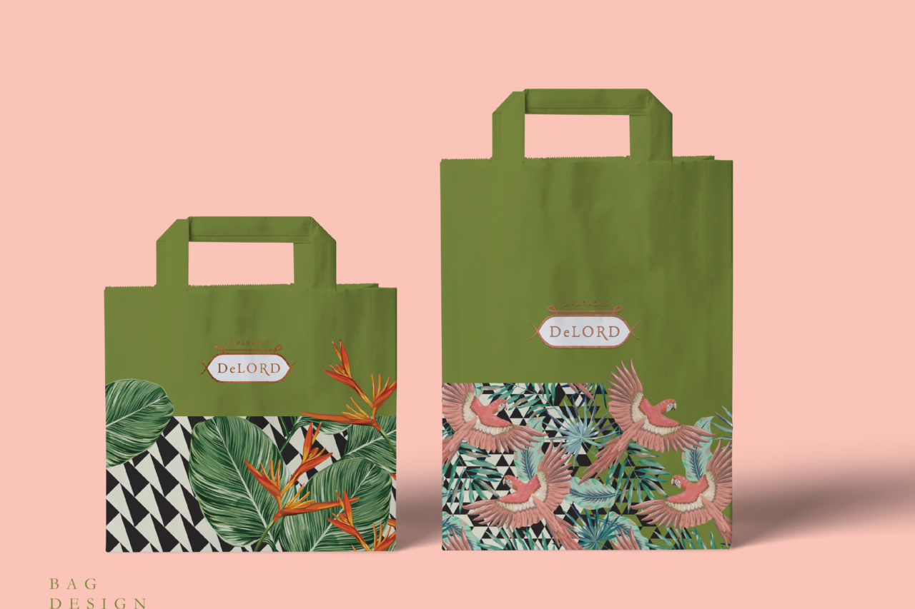 take away bag design