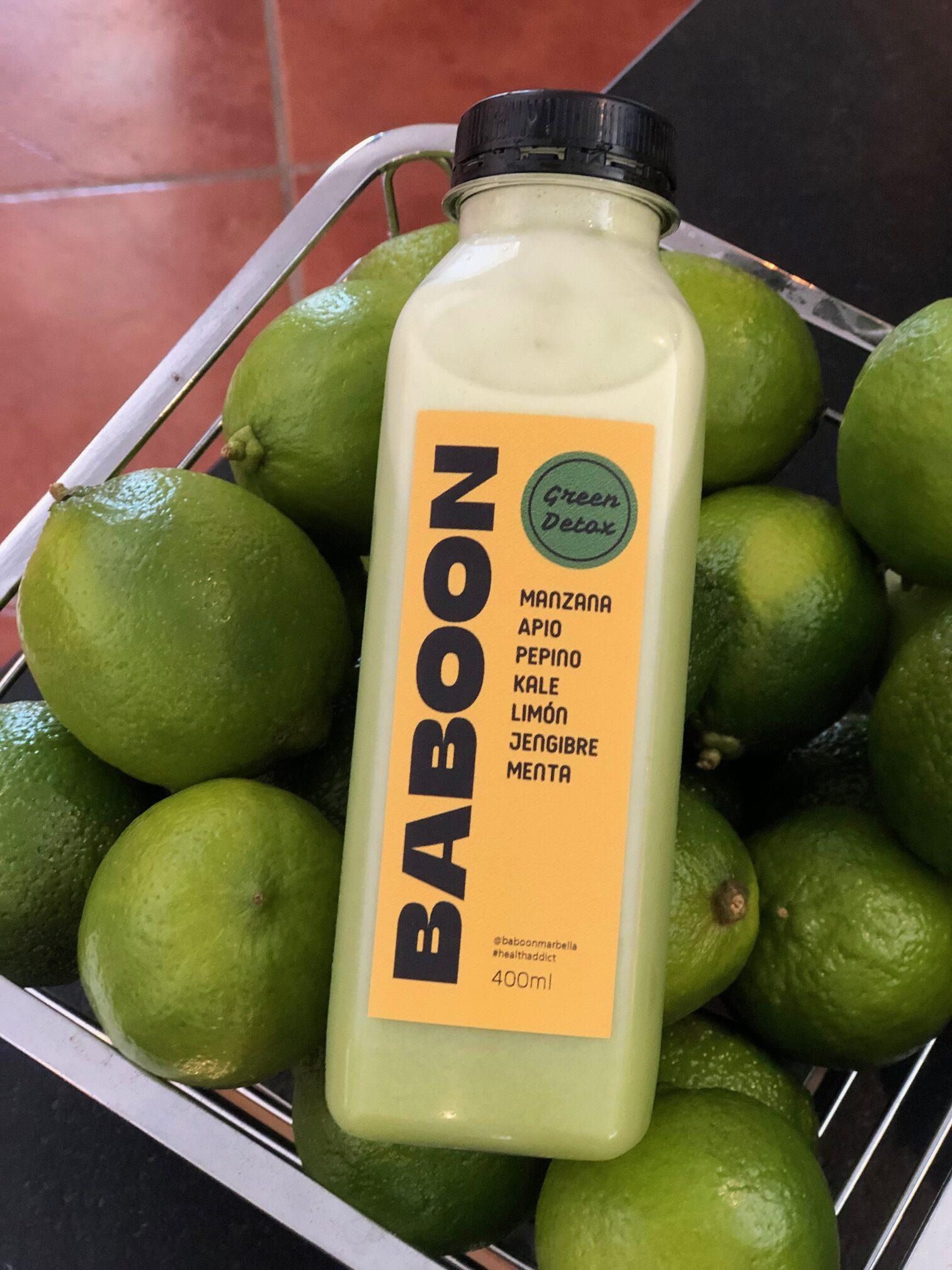 healthy detox juice label design